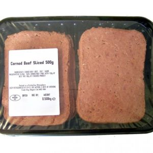Sliced Corned Beef x 500g