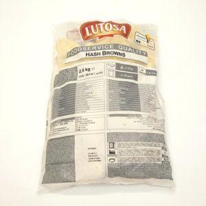 Bag Hash Browns Lutosa x 2.5kilo