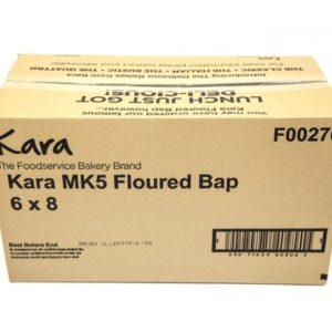 """Kara 5 Floured Buns x 48"""""""