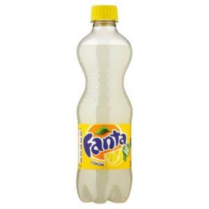 500ml Fanta Lemon x 12