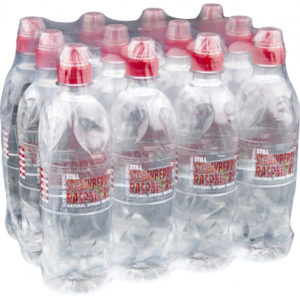 Sutton Springs Strawberry & Raspberry Water 12x500ml