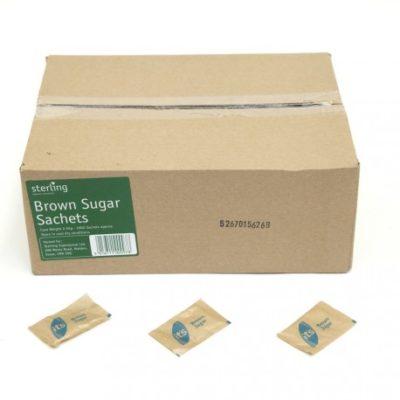 Sachets Brown Sugar  x 2.5kg