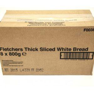 Kara Thick Sliced White Bread x 8 loaves