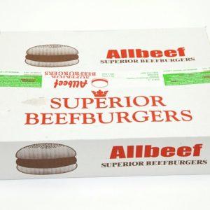 90% Allbeef Burgers x 48