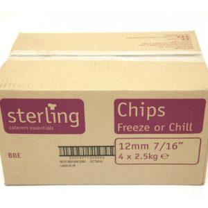 12mm Frozen Chips 22lb A Grade Sterling