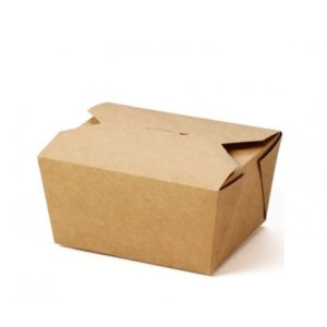 Small Compostable Hot Food Box x 450