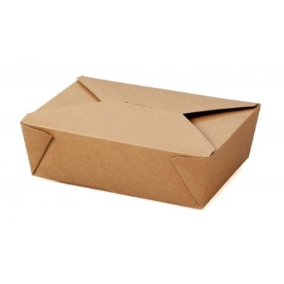 Large Compostable Hot Food Box x 180