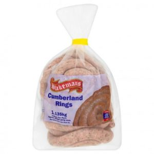 Cumberlands Sausages Whirls x 20 - Blakemans