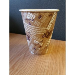 12oz  Single Wall Hot Drink  Cup x 1000
