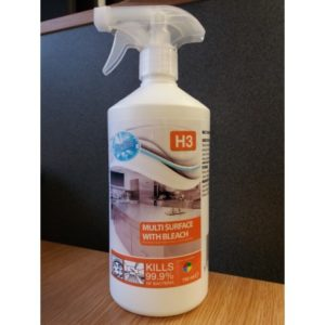 750ml Multi Surface Cleaner with Bleach